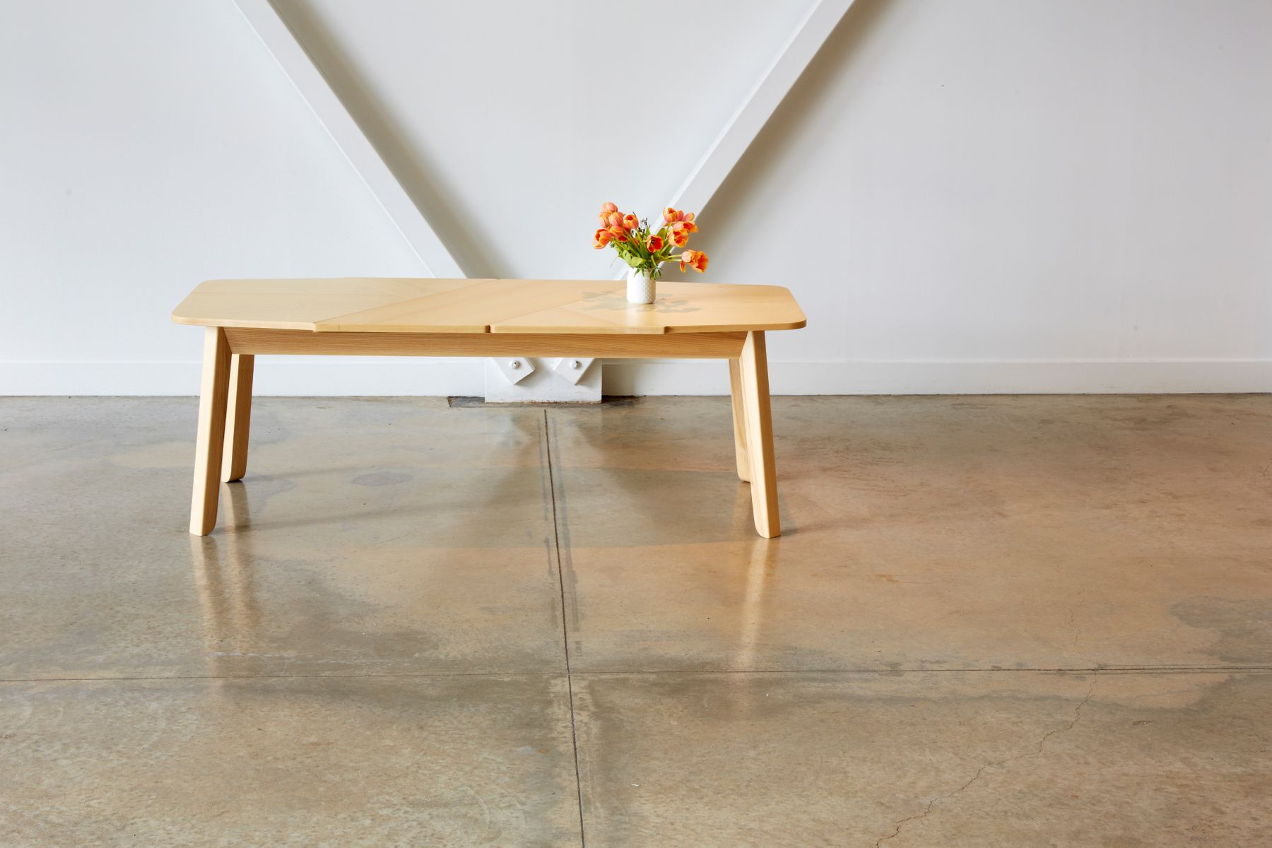 kleiner wrap esstisch von debra folz design bei pamono kaufen. Black Bedroom Furniture Sets. Home Design Ideas