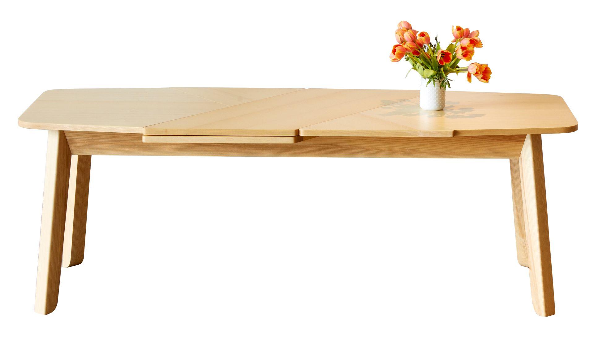 ausziehbarer wrap esstisch von debra folz design bei. Black Bedroom Furniture Sets. Home Design Ideas
