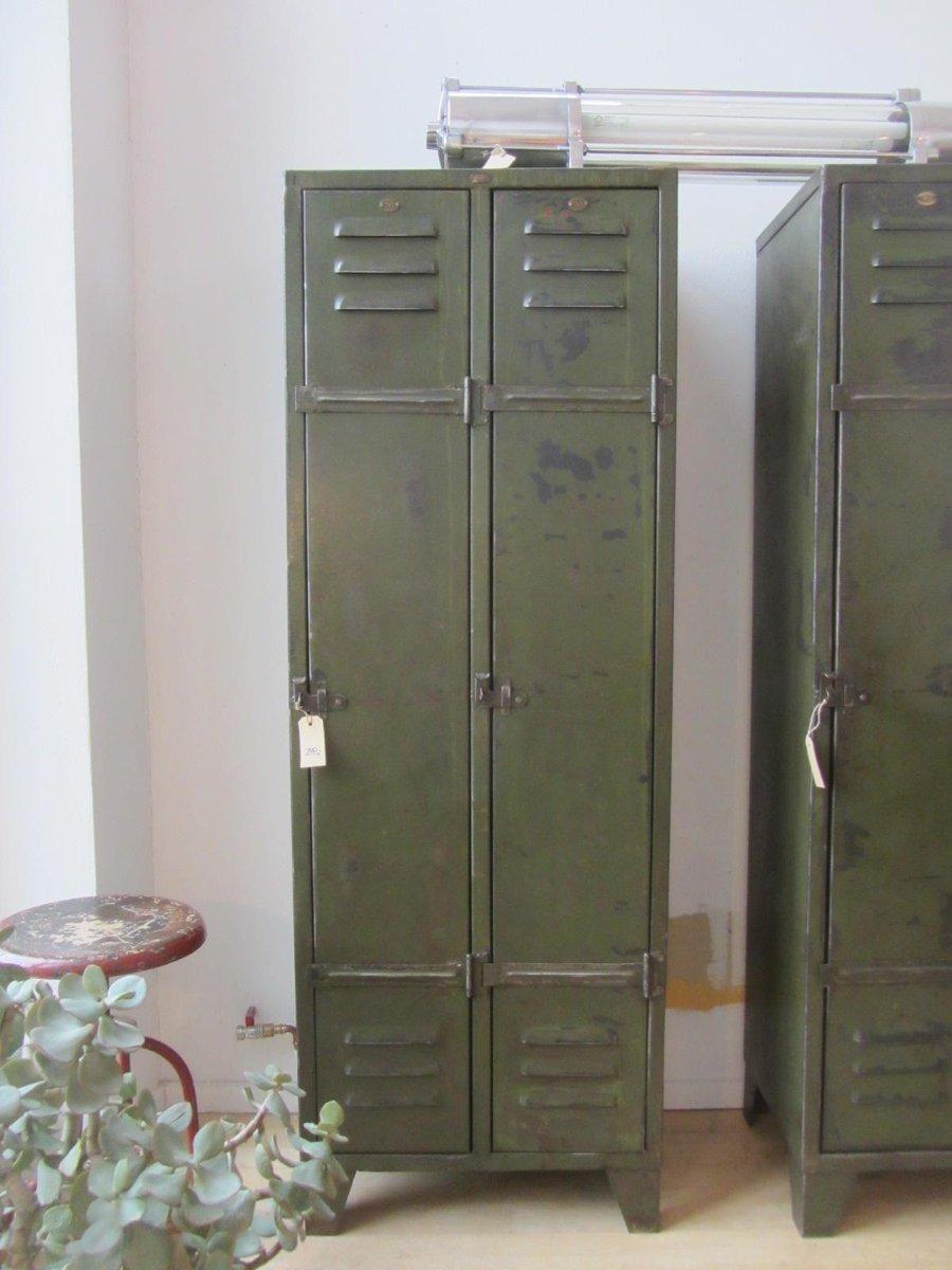 vintage metall spind bei pamono kaufen. Black Bedroom Furniture Sets. Home Design Ideas