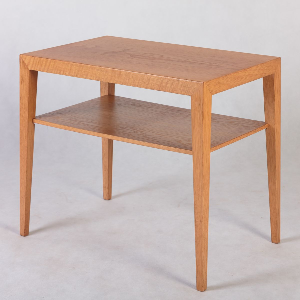Danish Oak Side Table By Severin Hansen For Sale At Pamono. Full resolution  photograph, nominally Width 1200 Height 1200 pixels, photograph with #985C33.