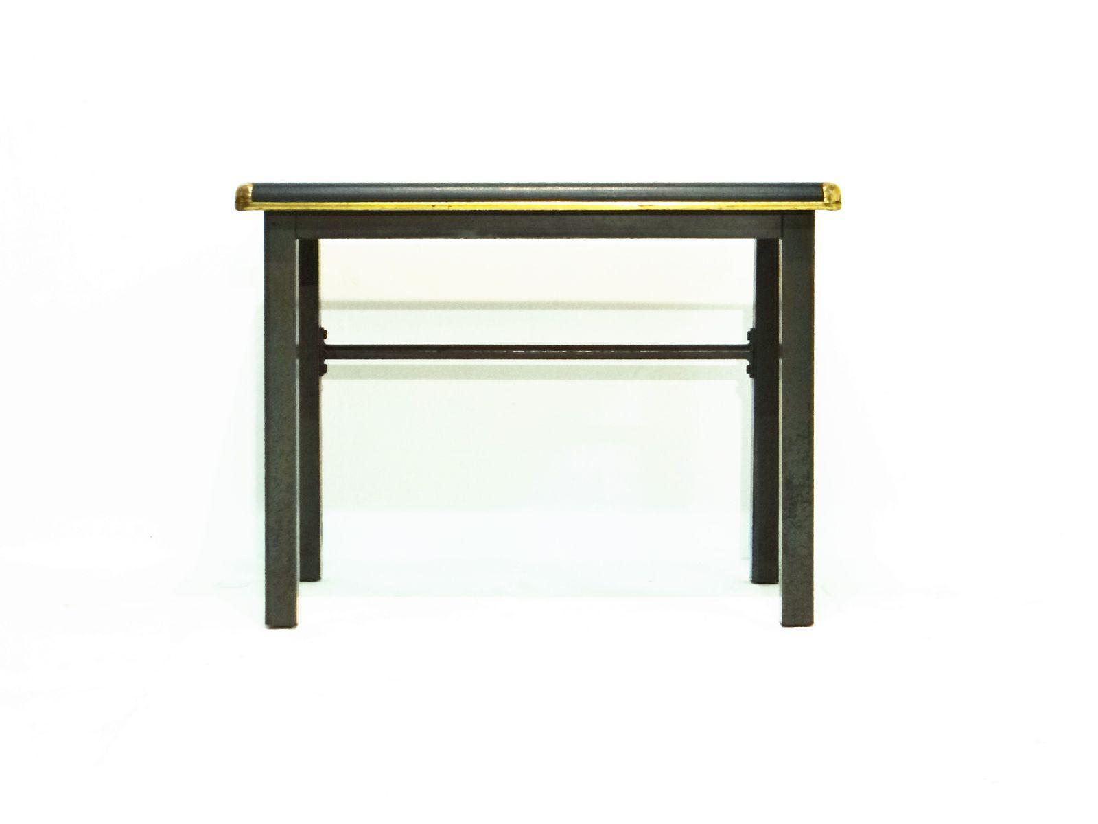 German Industrial Black Side Table 8. $805.00. Price Per Piece