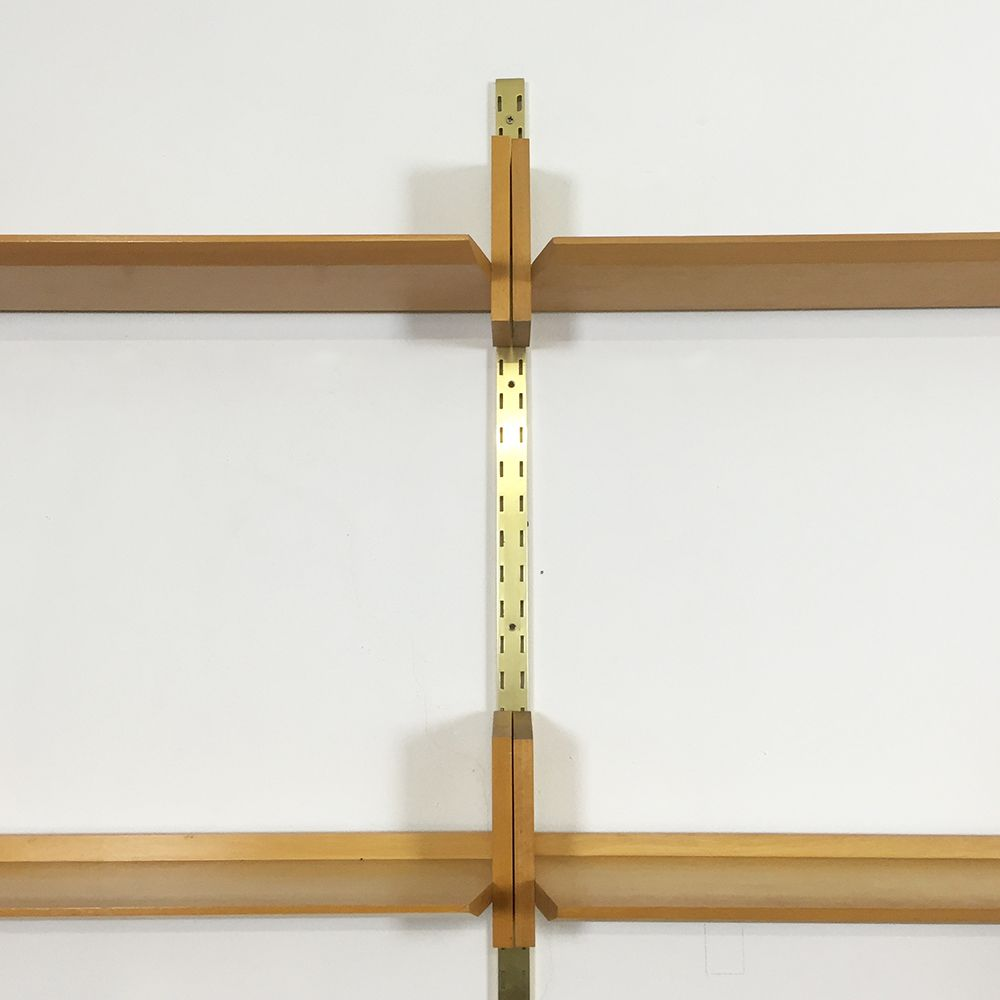 german elm wk 192 modular rack by dieter reinhold for wk. Black Bedroom Furniture Sets. Home Design Ideas