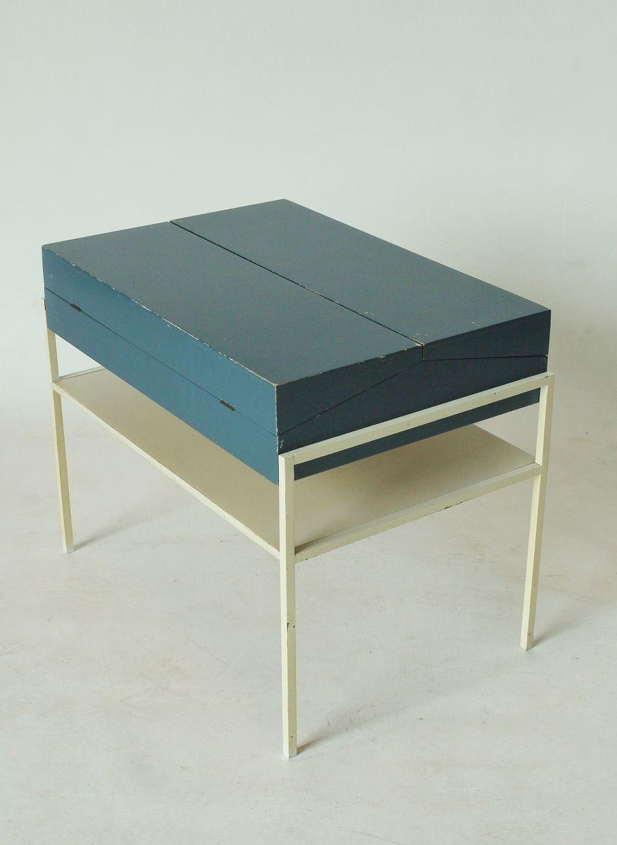 niederl ndischer mid century tisch zur aufbewahrung von coen de vries f r tetex 1950er bei. Black Bedroom Furniture Sets. Home Design Ideas