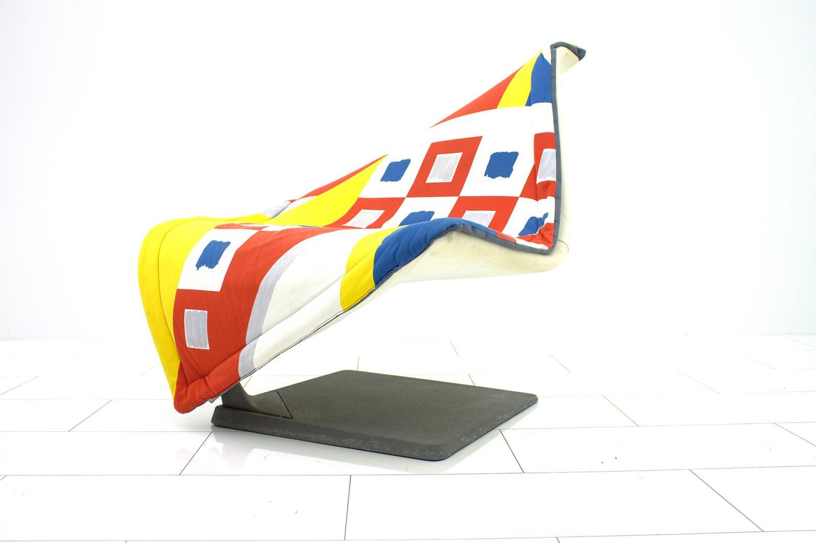 Fliegender Teppich Beistellstuhl von Simon Desanta für