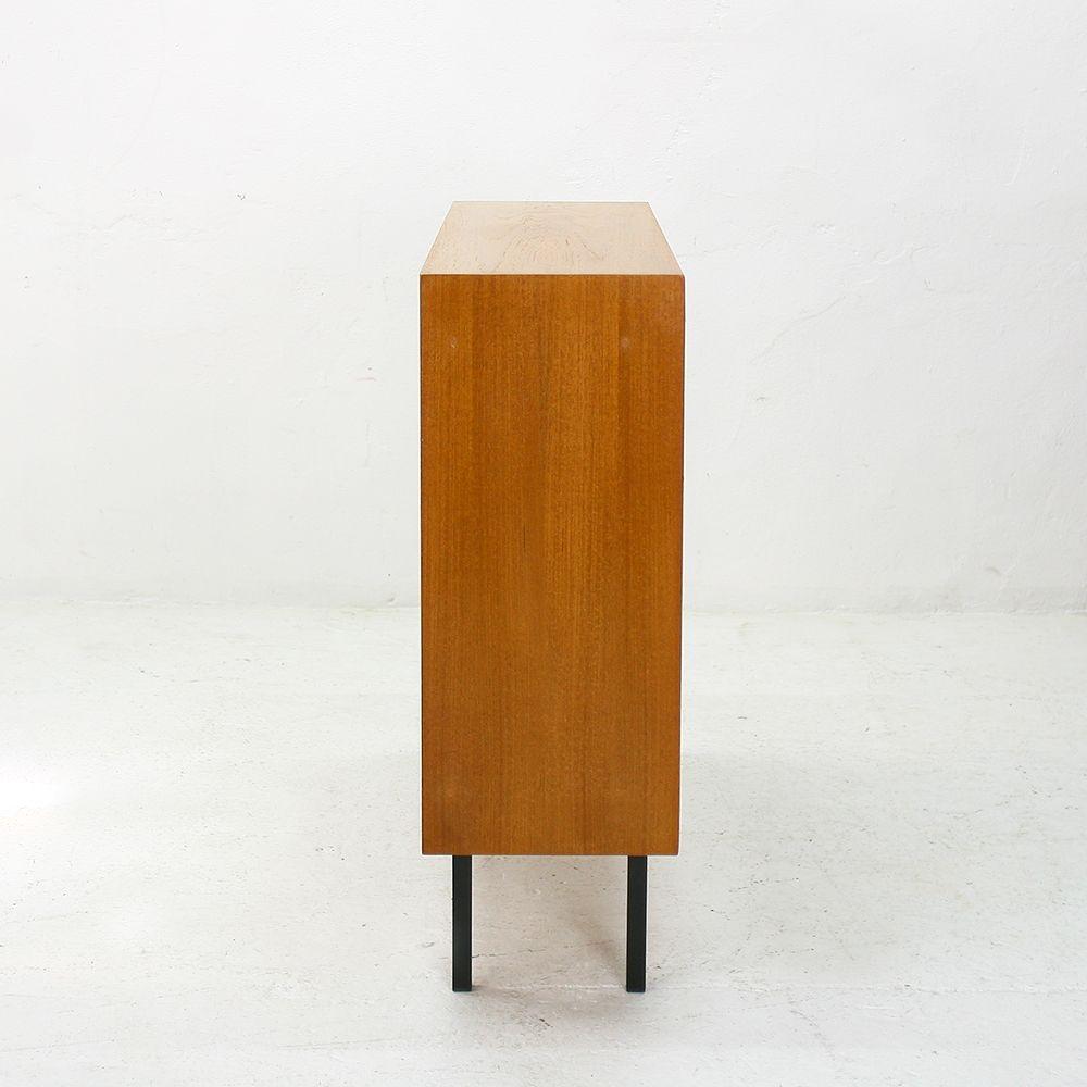 465 teak highboard from wk m bel 1960s for sale at pamono. Black Bedroom Furniture Sets. Home Design Ideas