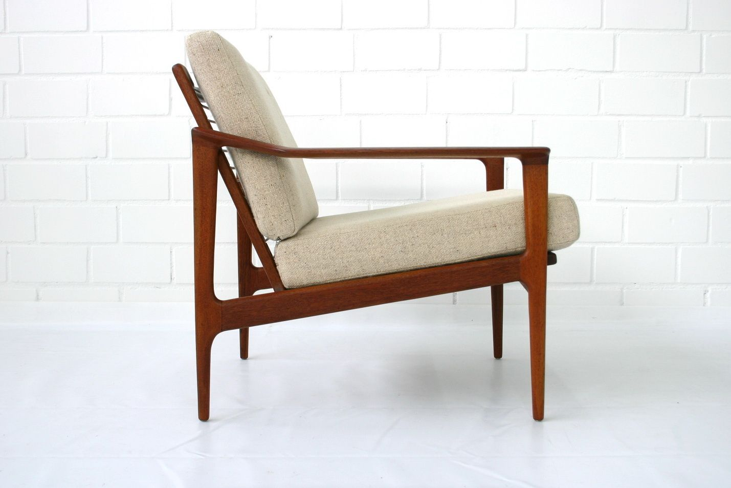 Mid Century Danish Teak Lounge Chair By Ib Kofod Larsen