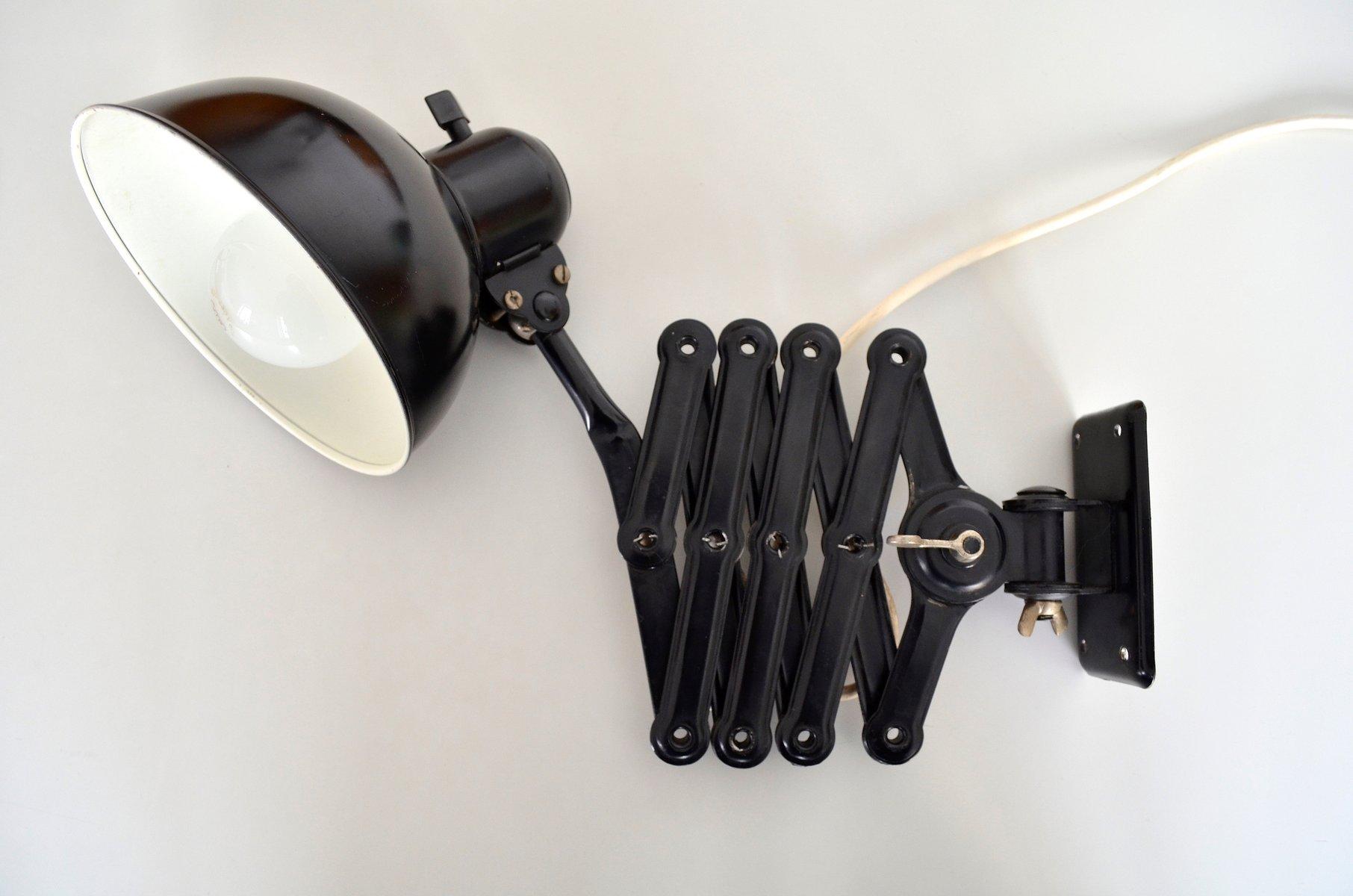 vintage bauhaus scherenlampe 6718 von christian dell f r kaiser idell bei pamono kaufen. Black Bedroom Furniture Sets. Home Design Ideas