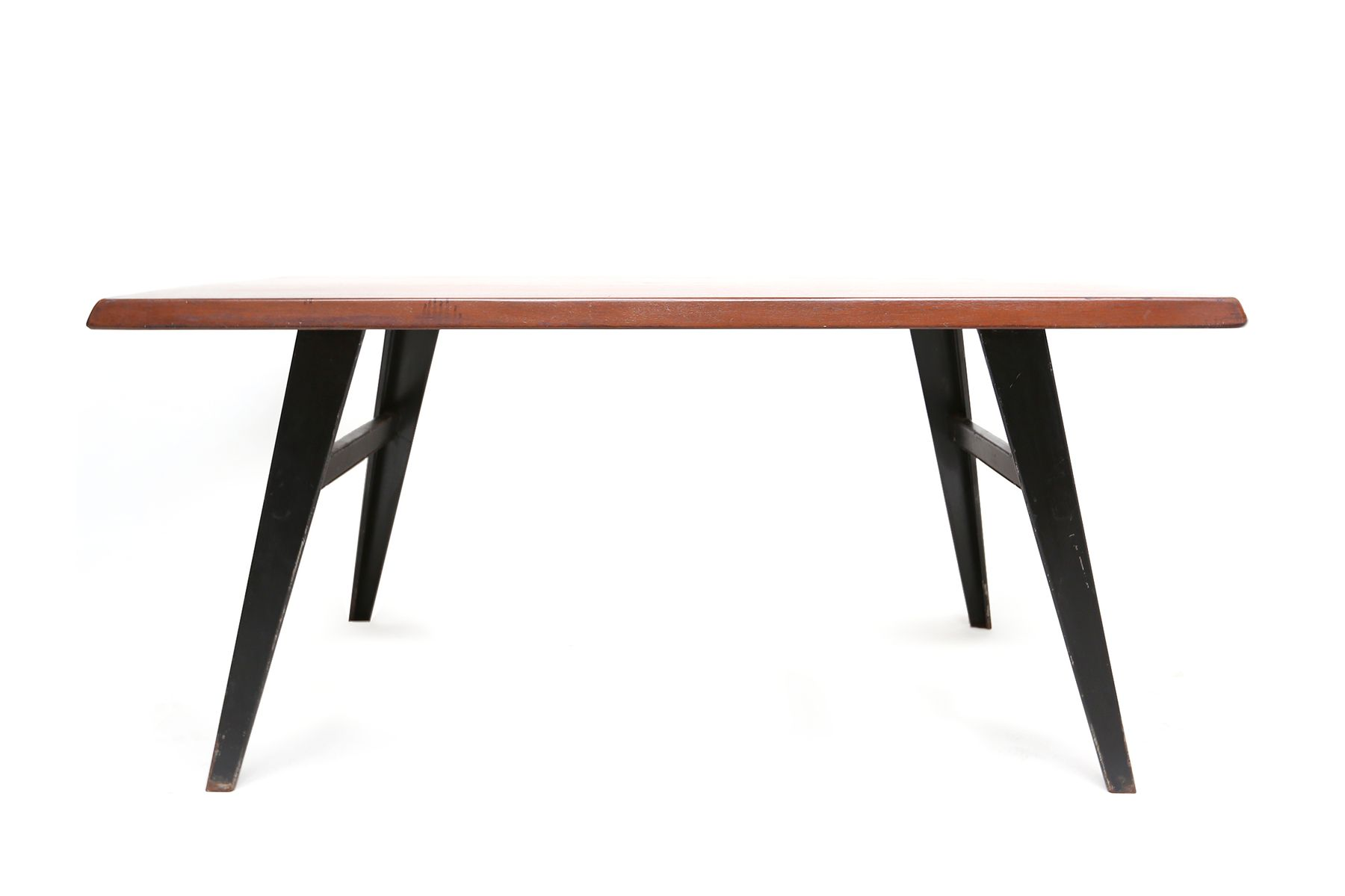 Table de salle manger industrielle france 1950s en vente sur pamono - Solde table a manger ...