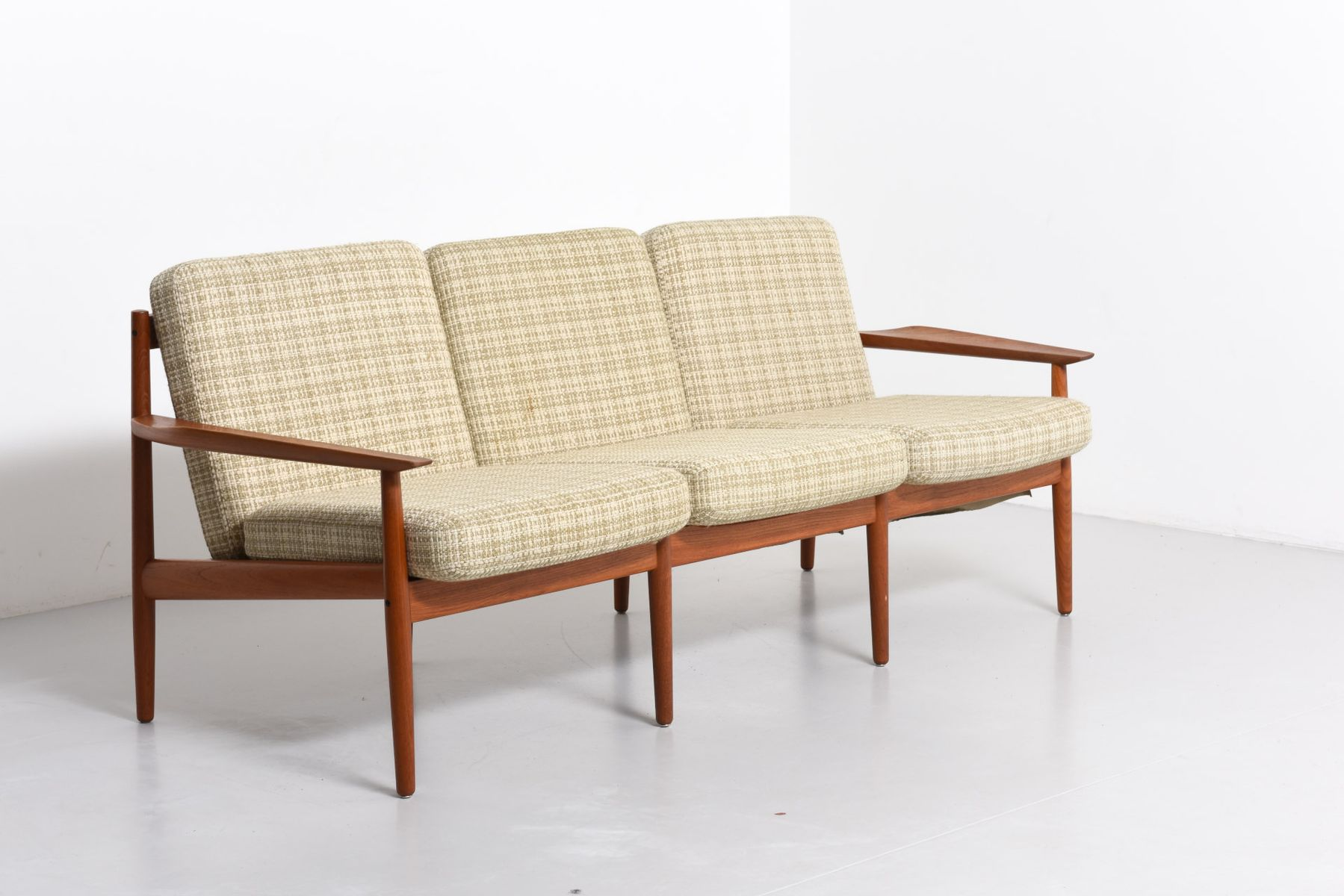 Danish three seater sofa by arne vodder for glostrup for 3 seater sofa