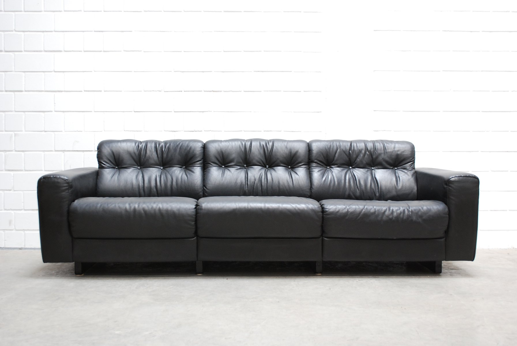 Leather Living Room Sets Ds 40 Leather Living Room Set From De Sede For Sale At Pamono