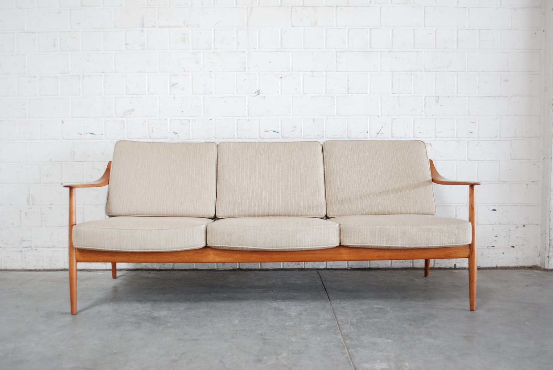 Danish Teak Sofa By Knoll Antimott For Sale At Pamono