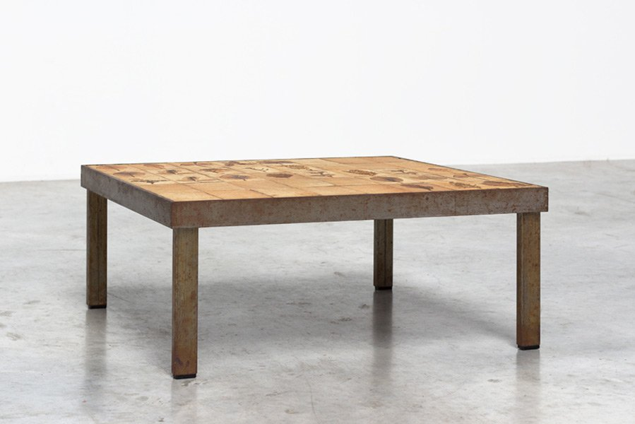 Garrigue Series Tile Coffee Table By Roger Capron