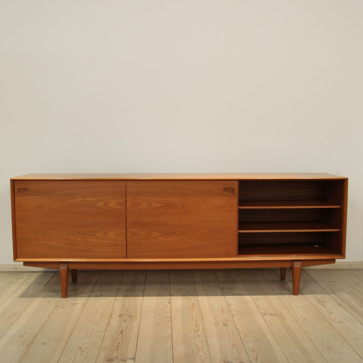 Danish teak sideboard from skovby 1960s for sale at pamono for Sideboard 220 cm