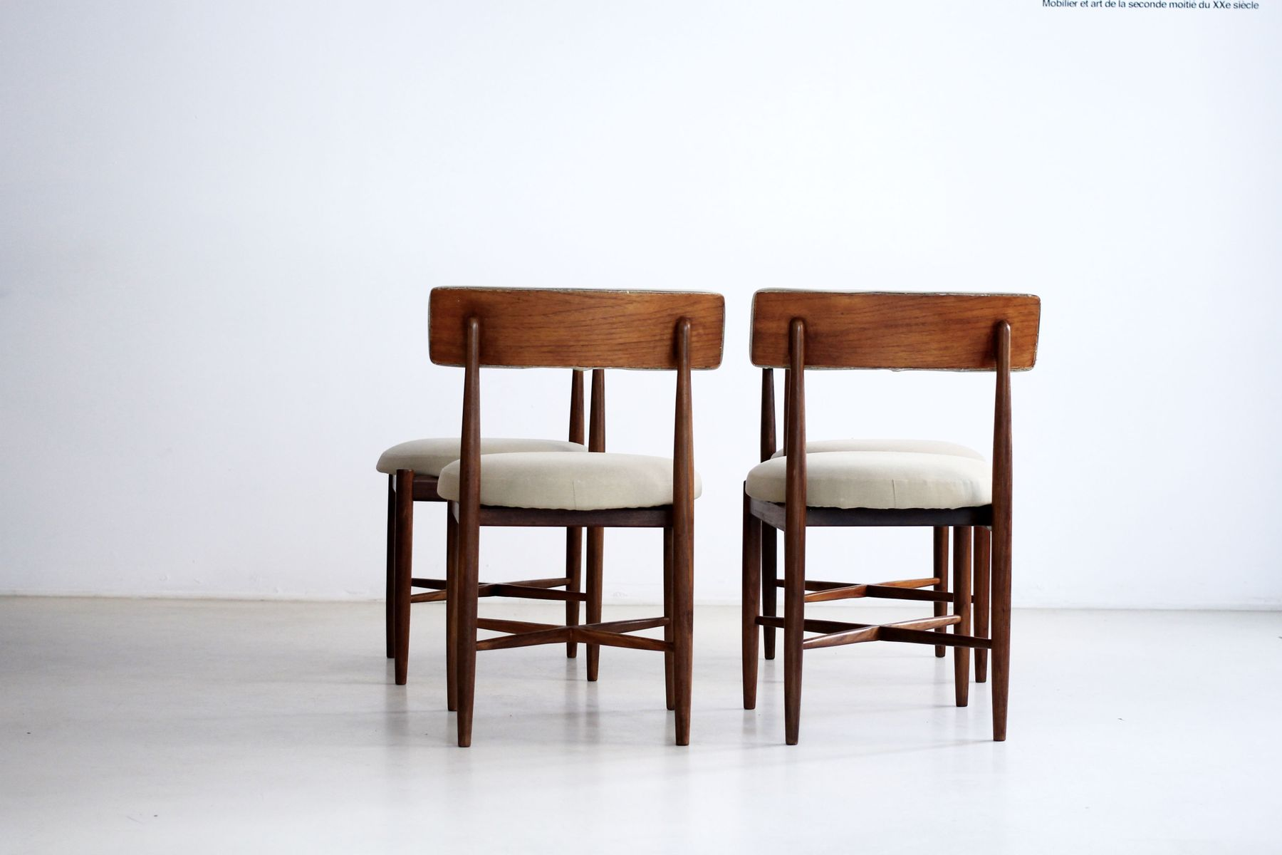 Scandinavian dining chairs from g plan set of 4 1960s for G plan dining room chairs