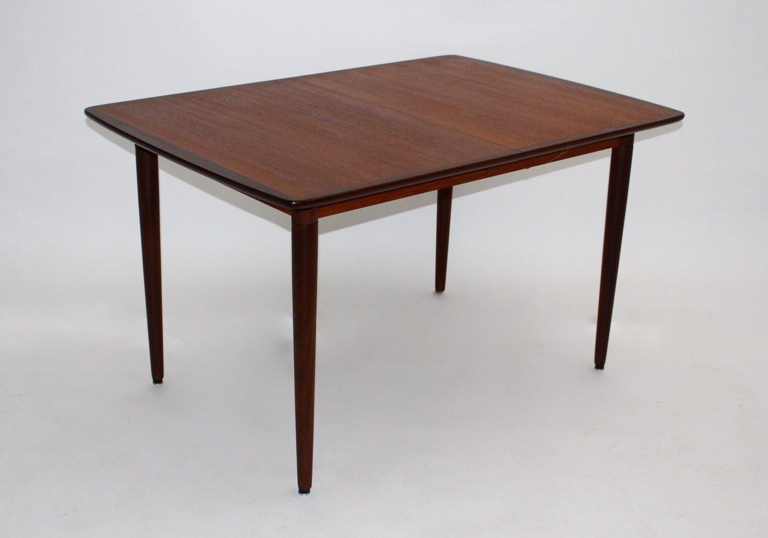 Extending Coffee Table Danish Teak Rosewood And Ash Rectangular Extending Dining Table