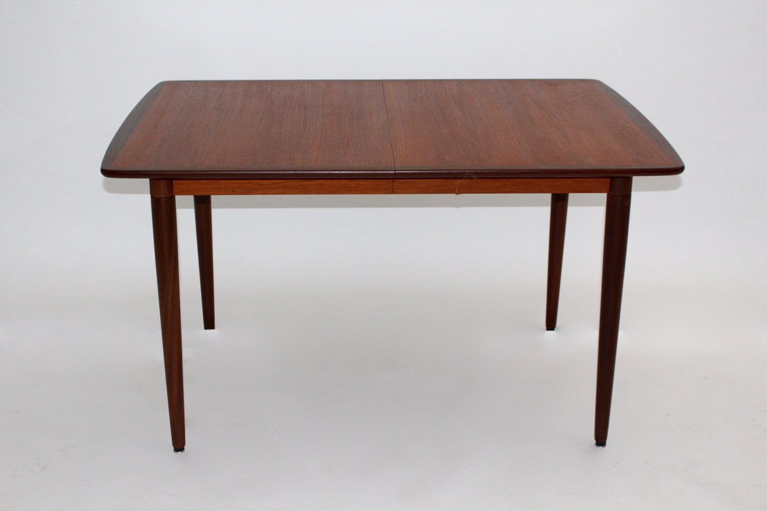 danish teak rosewood and ash rectangular extending