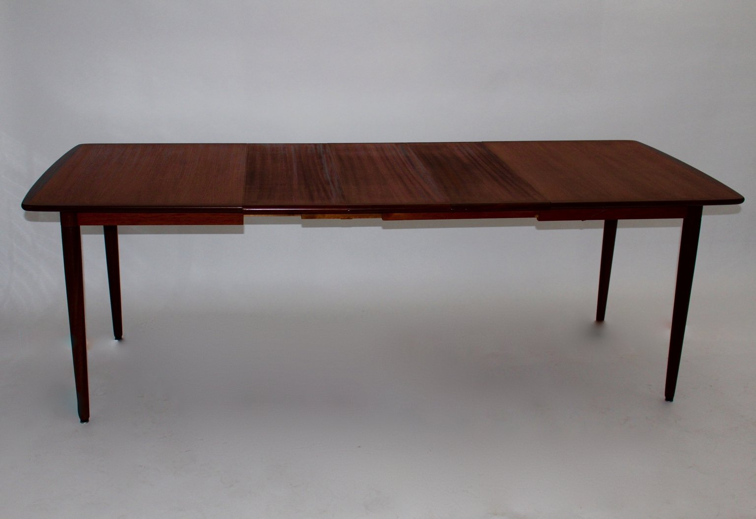 and ash rectangular extending dining table 1960s for sale at pamono