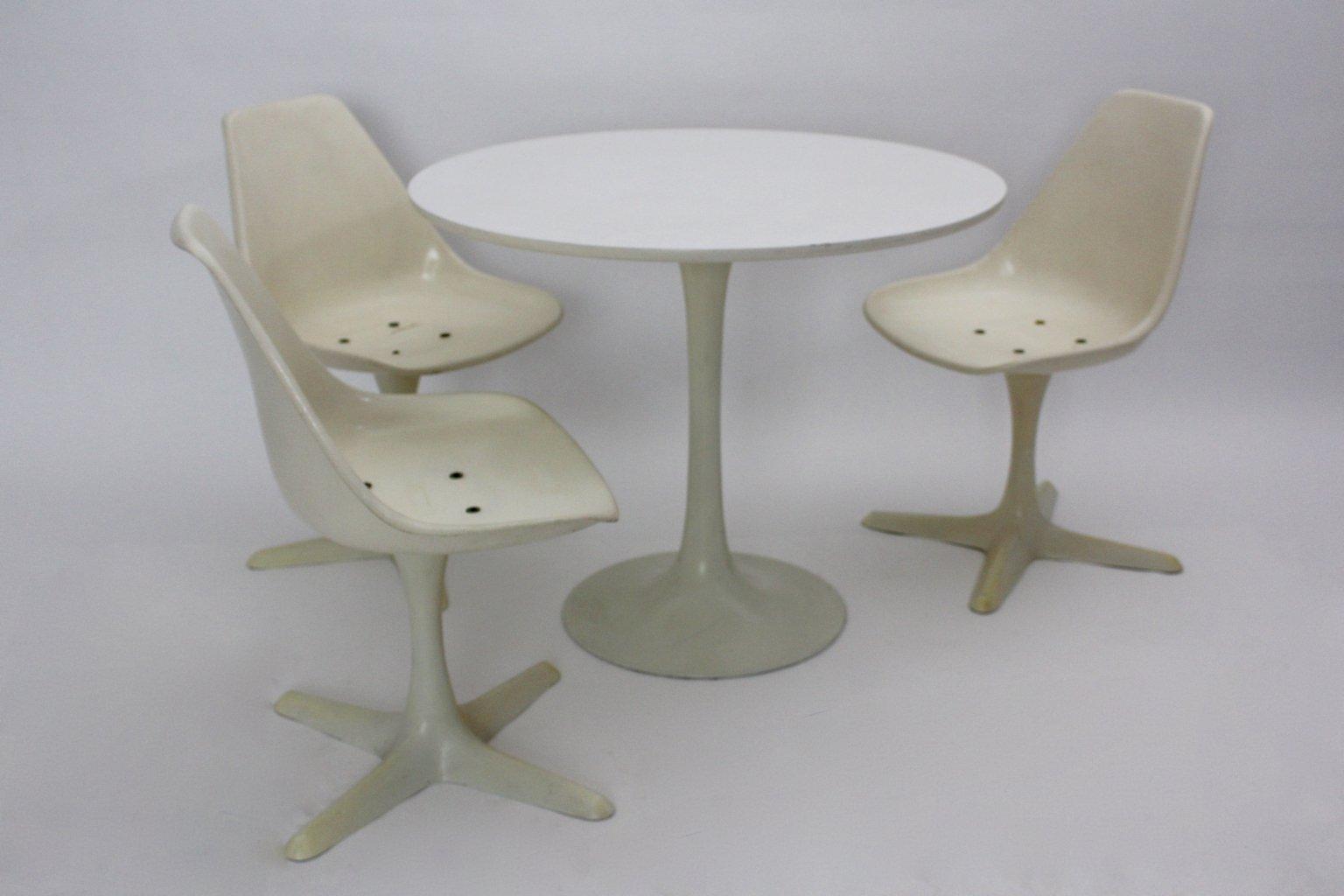 Britisches Tisch U0026 Stühle Esszimmerset Von Maurice Burke Für Arkana,  1960er, 4er Set Bei Pamono Kaufen