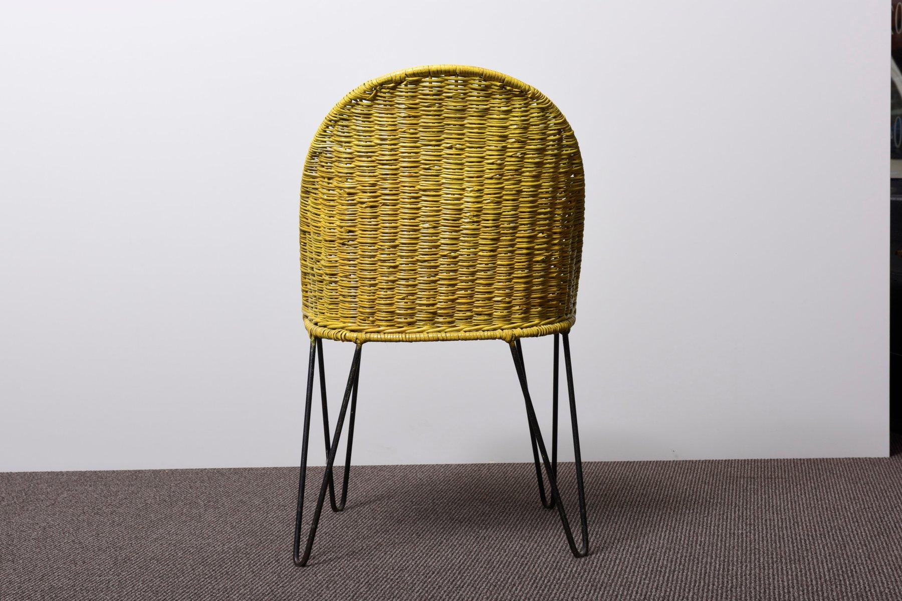 rattan gartenm bel 1980er bei pamono kaufen. Black Bedroom Furniture Sets. Home Design Ideas