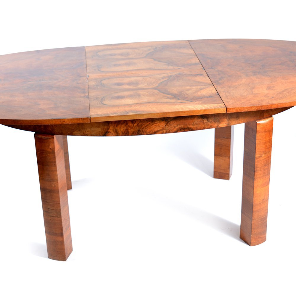 czech art deco dining table for sale at pamono