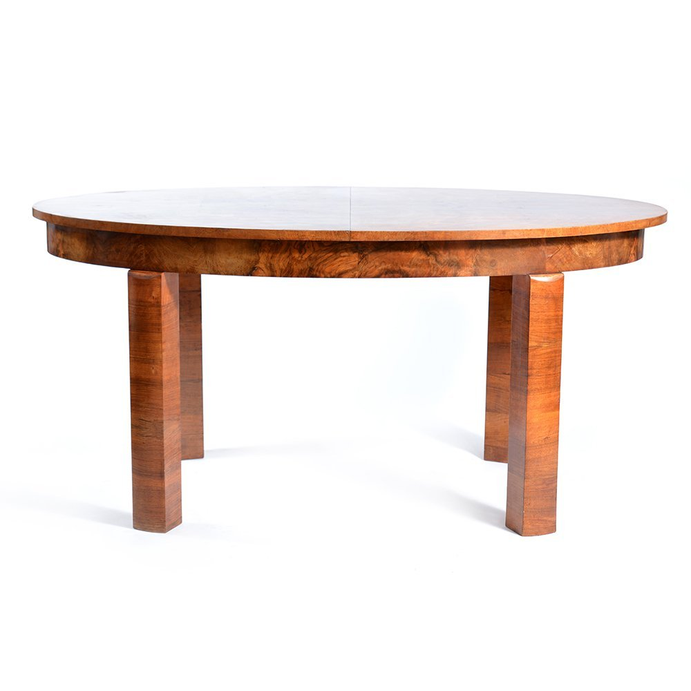 Czech Art Deco Dining Table for sale at Pamono : czech art deco dining table 1 from www.pamono.eu size 1000 x 1000 jpeg 54kB
