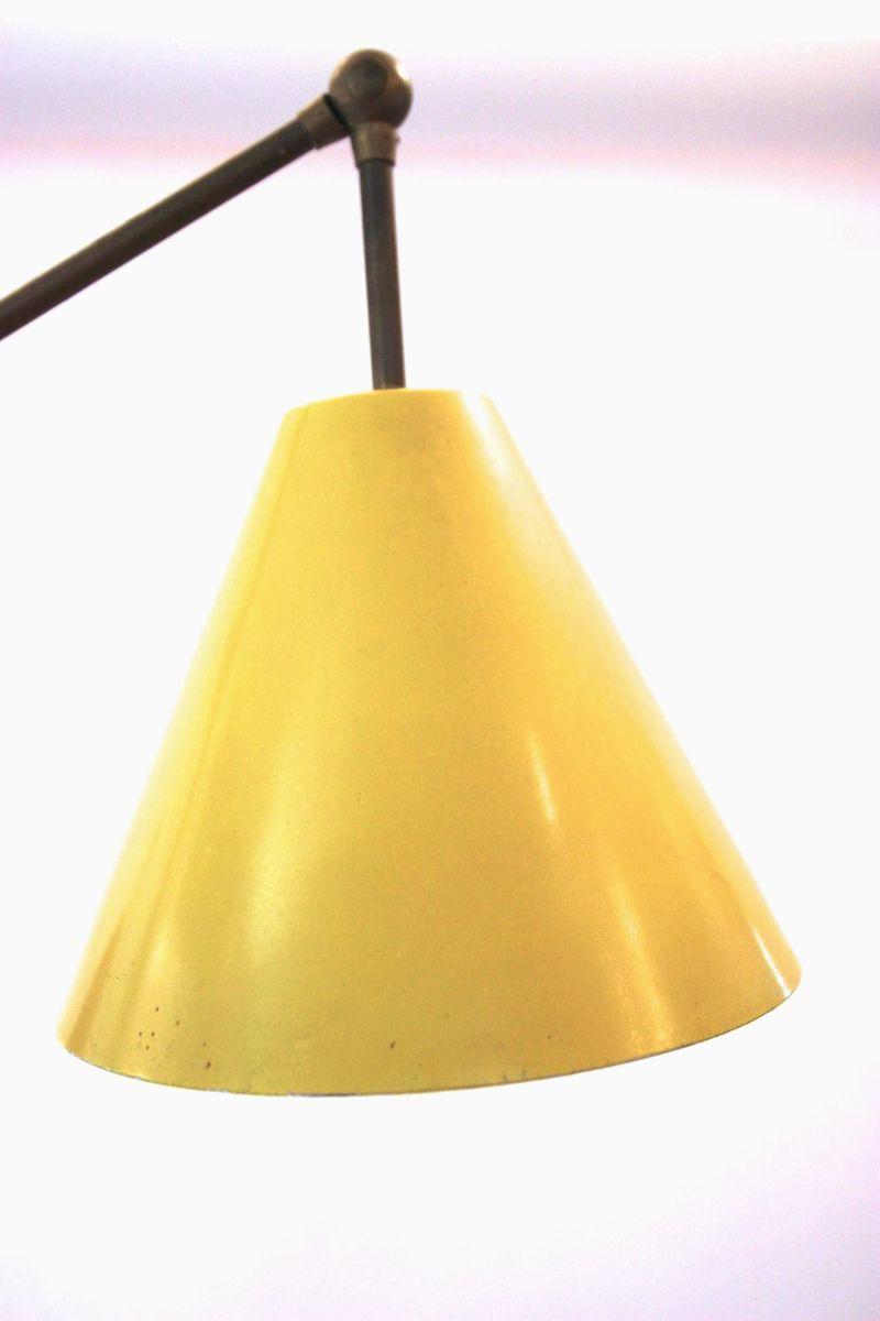 Italian triennale floor lamp by angelo lelli for for Arredo luce