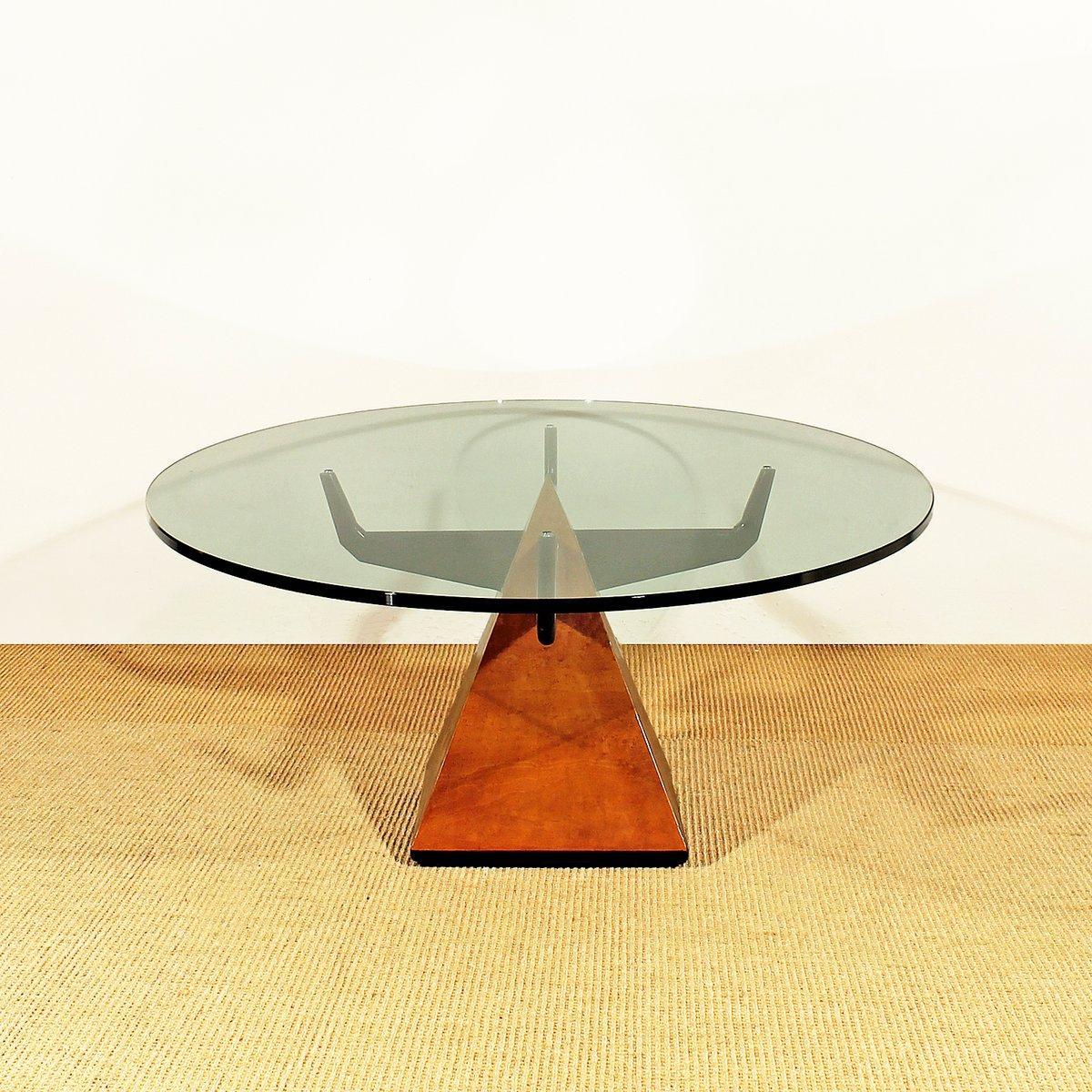 Italian Coffee Table Pyramidal Italian Coffee Table 1950s For Sale At Pamono