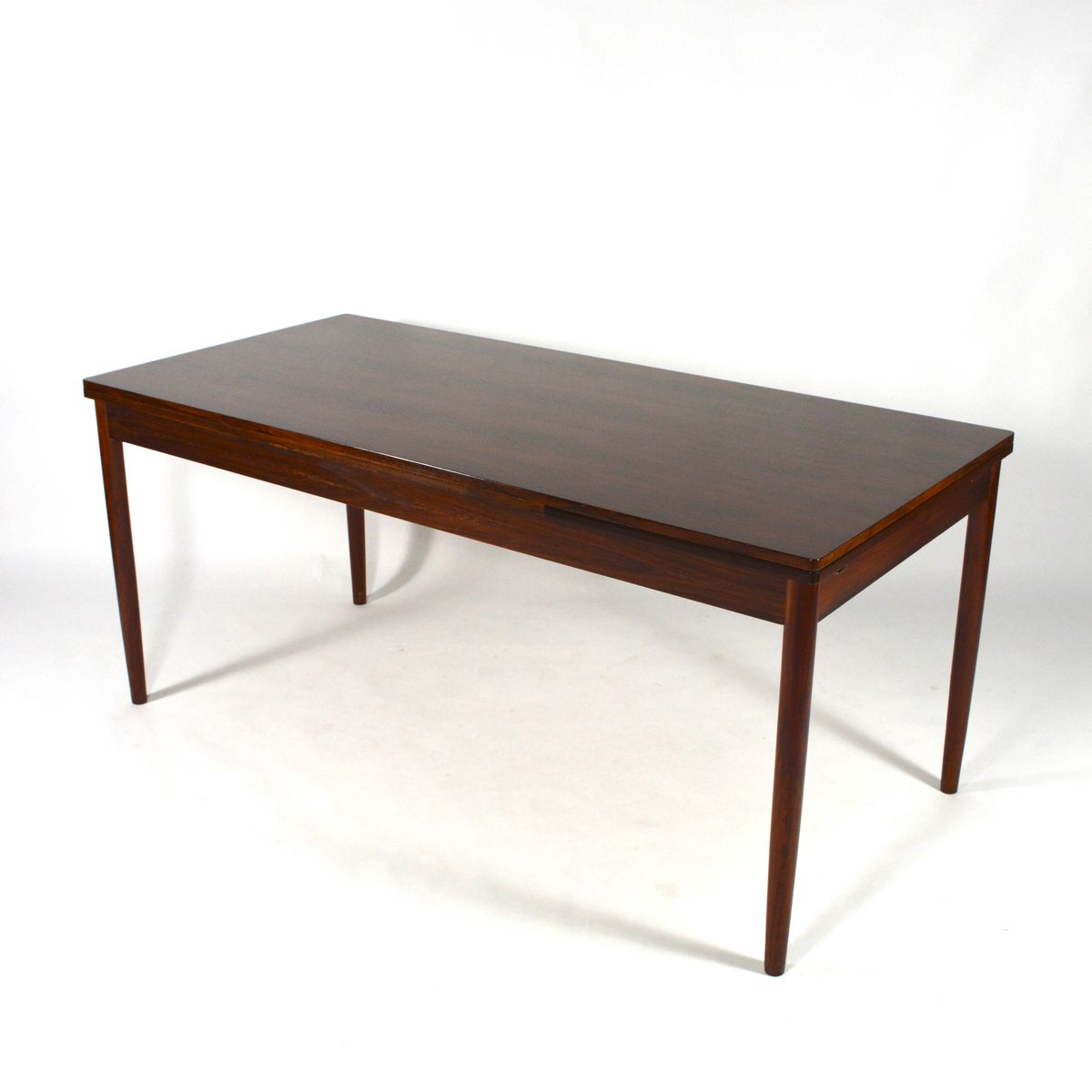 Large Extendable Rosewood Dining Table 1950s For Sale At Pamono
