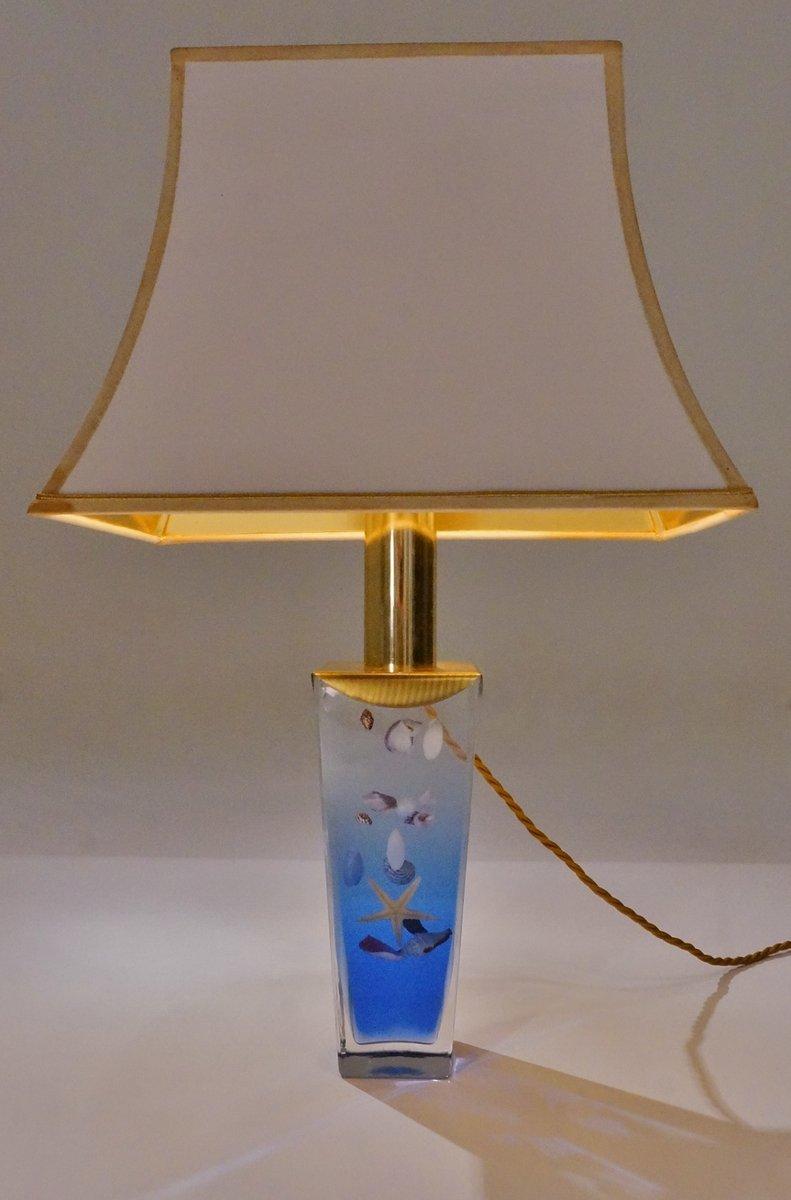 Lampe de Bureau Aquarium Vintage, Italie en vente sur Pamono