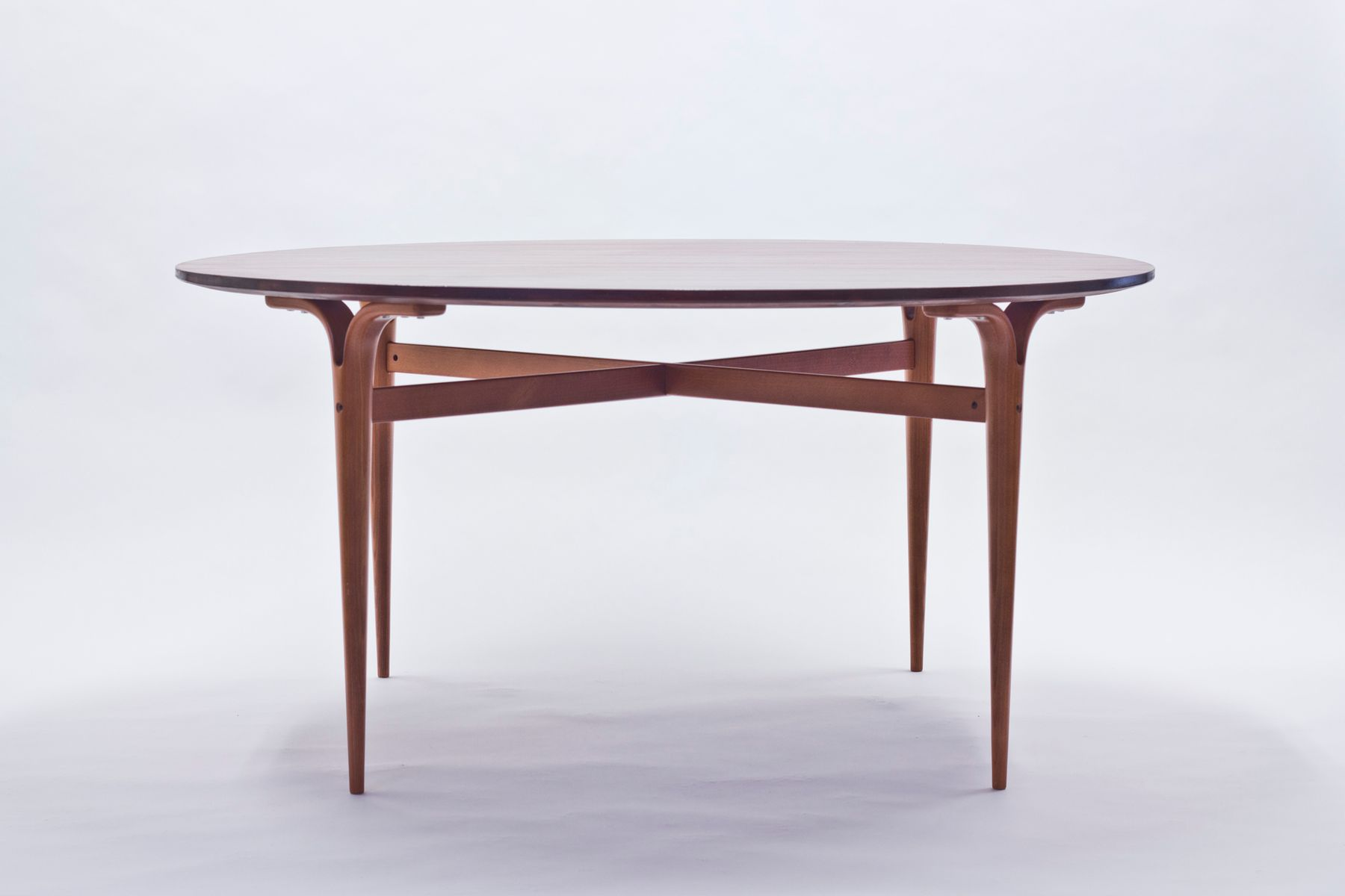 Round Mahogany Dining Table Model MI 753 by Bruno Mathsson  : round mahogany dining table model mi 753 by bruno mathsson for dux 1 from www.pamono.com size 1800 x 1200 jpeg 51kB