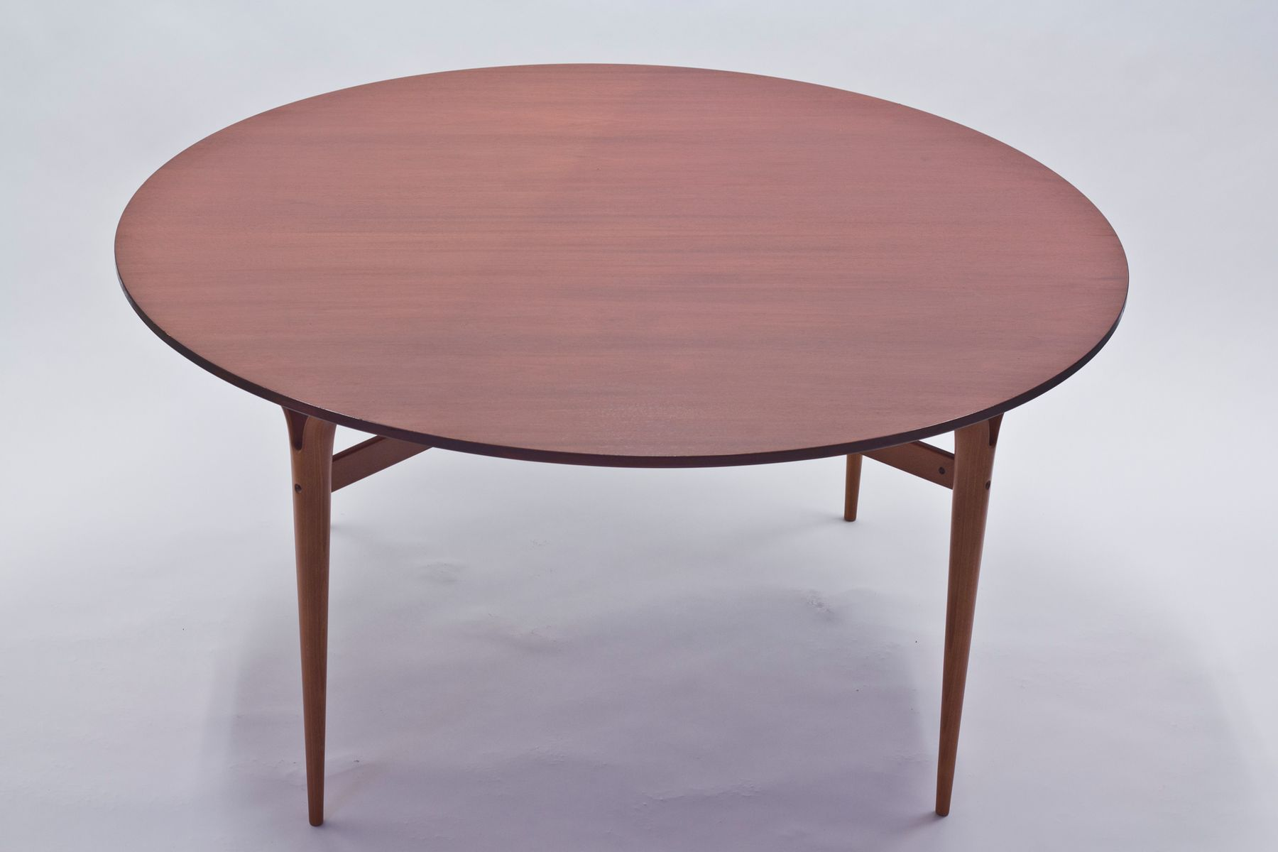 Round Mahogany Dining Table Model MI 753 by Bruno Mathsson  : round mahogany dining table model mi 753 by bruno mathsson for dux 2 from www.pamono.com size 1800 x 1200 jpeg 64kB