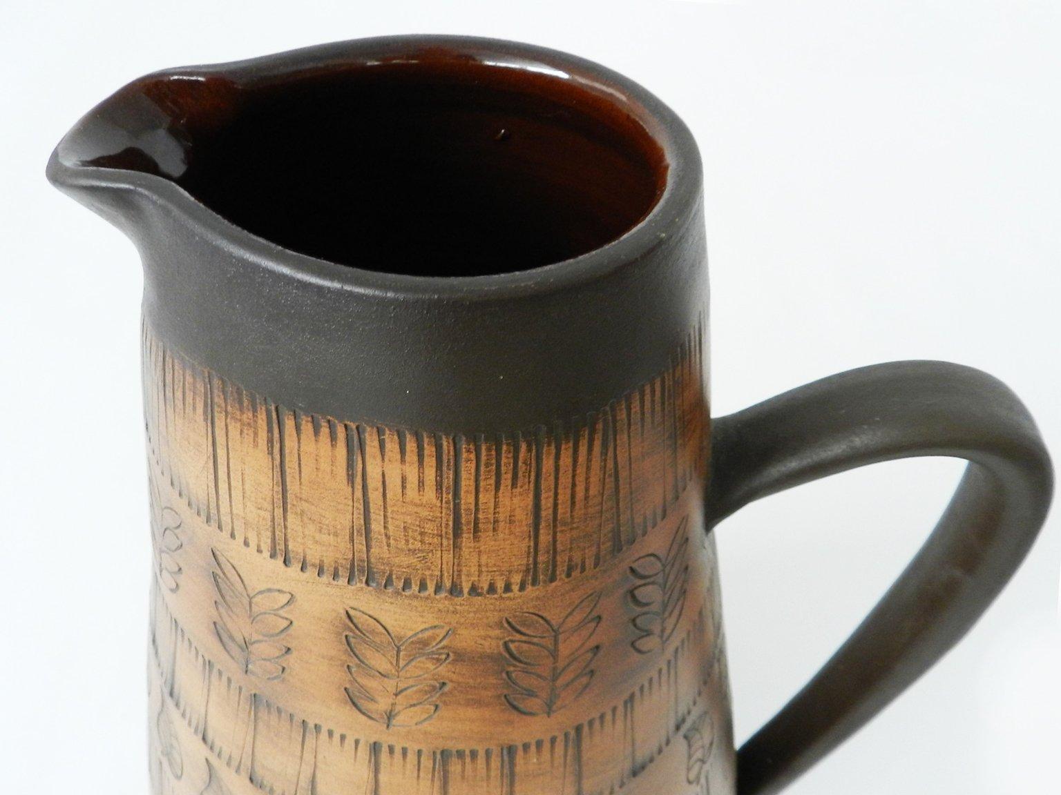 gro e keramik vase von frick bei pamono kaufen. Black Bedroom Furniture Sets. Home Design Ideas