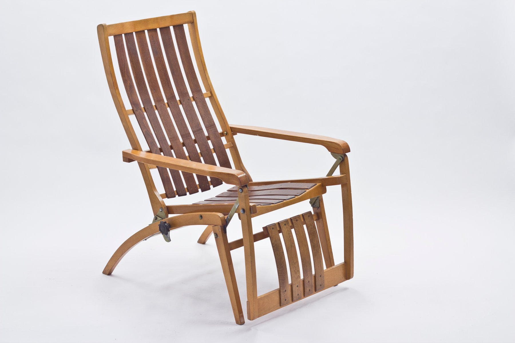 German Siesta Medizinal Folding Chair by Hans & Wassili Luckhardt