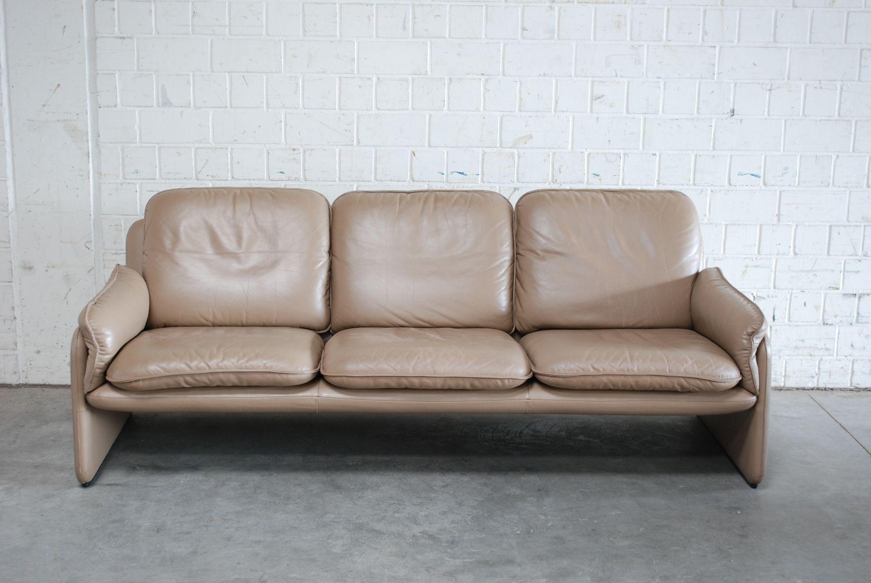 Canap et fauteuil mod le ds 61 vintage en cuir de de for Modele canape