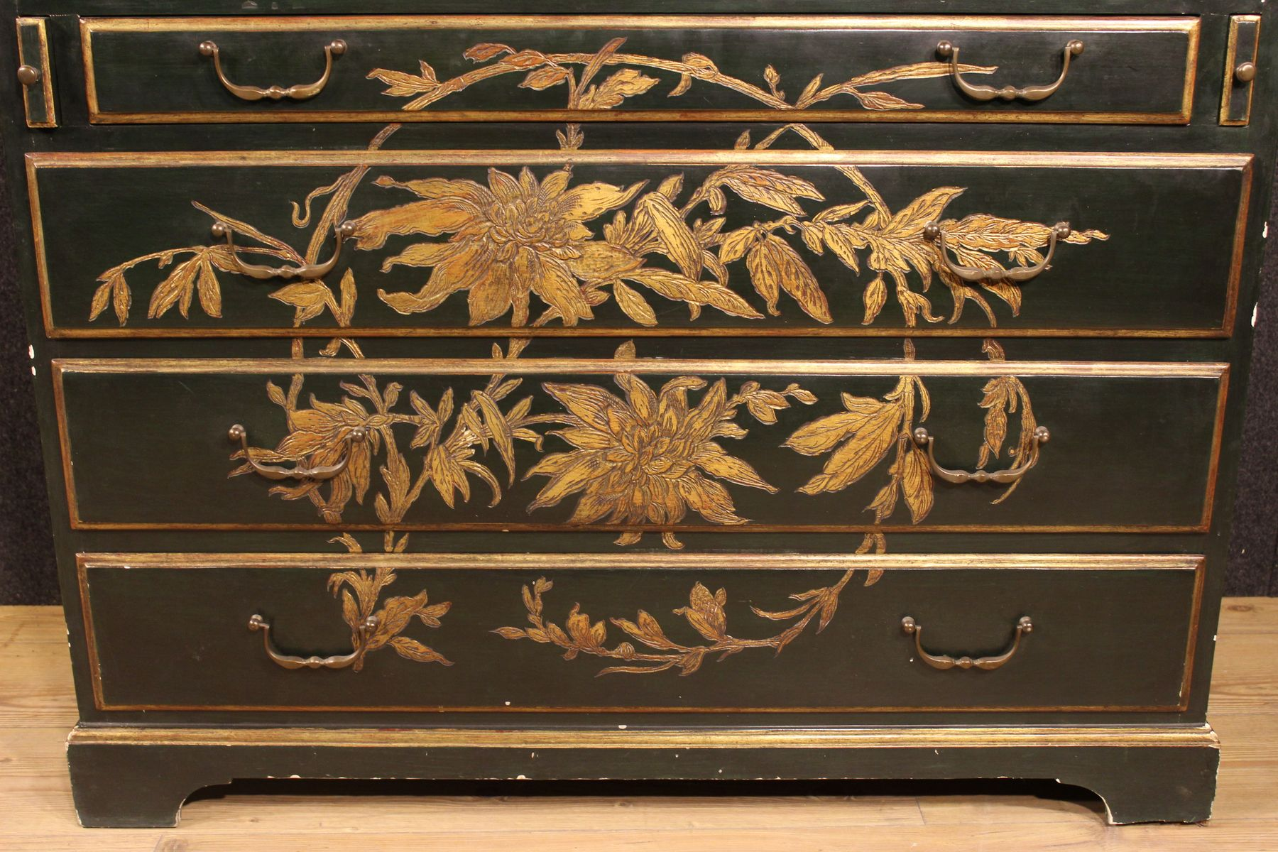 French trumeau secretaire cabinet 1940s for sale at pamono for 1940s kitchen cabinets for sale