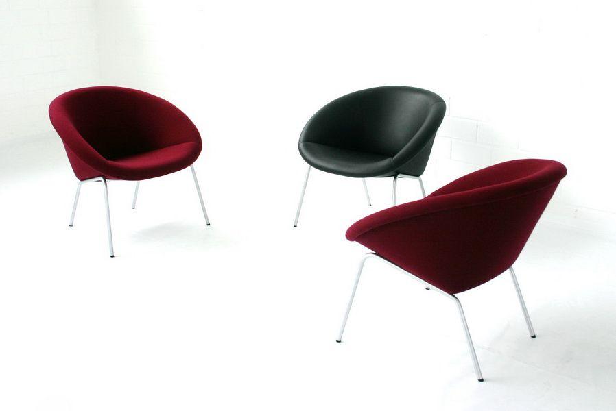 vintage modell 369 leder lounge stuhl von walter knoll 1950er bei pamono kaufen. Black Bedroom Furniture Sets. Home Design Ideas