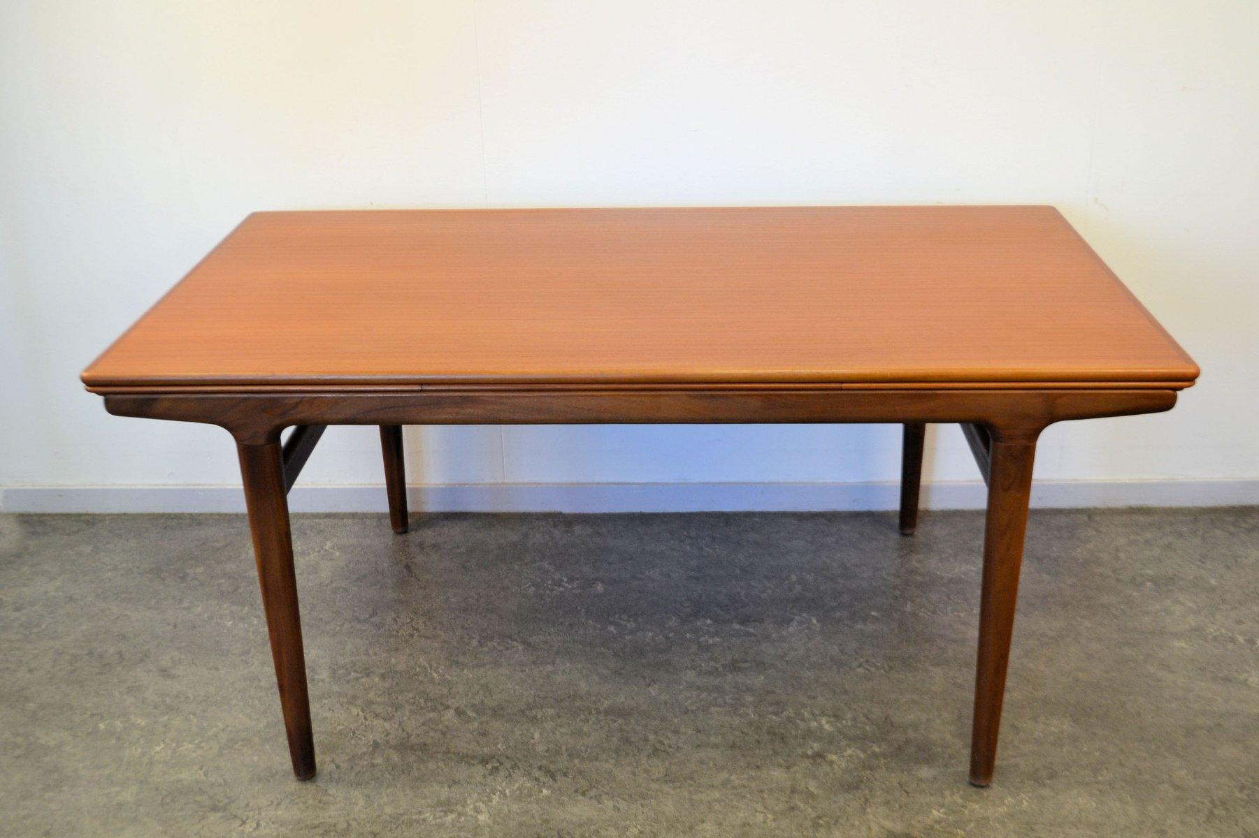 Vintage Danish Teak Dining Table by Johannes Andersen for  : vintage danish teak dining table by johannes andersen for udlum mobelfabrik 3 from www.pamono.com size 1801 x 1200 jpeg 131kB
