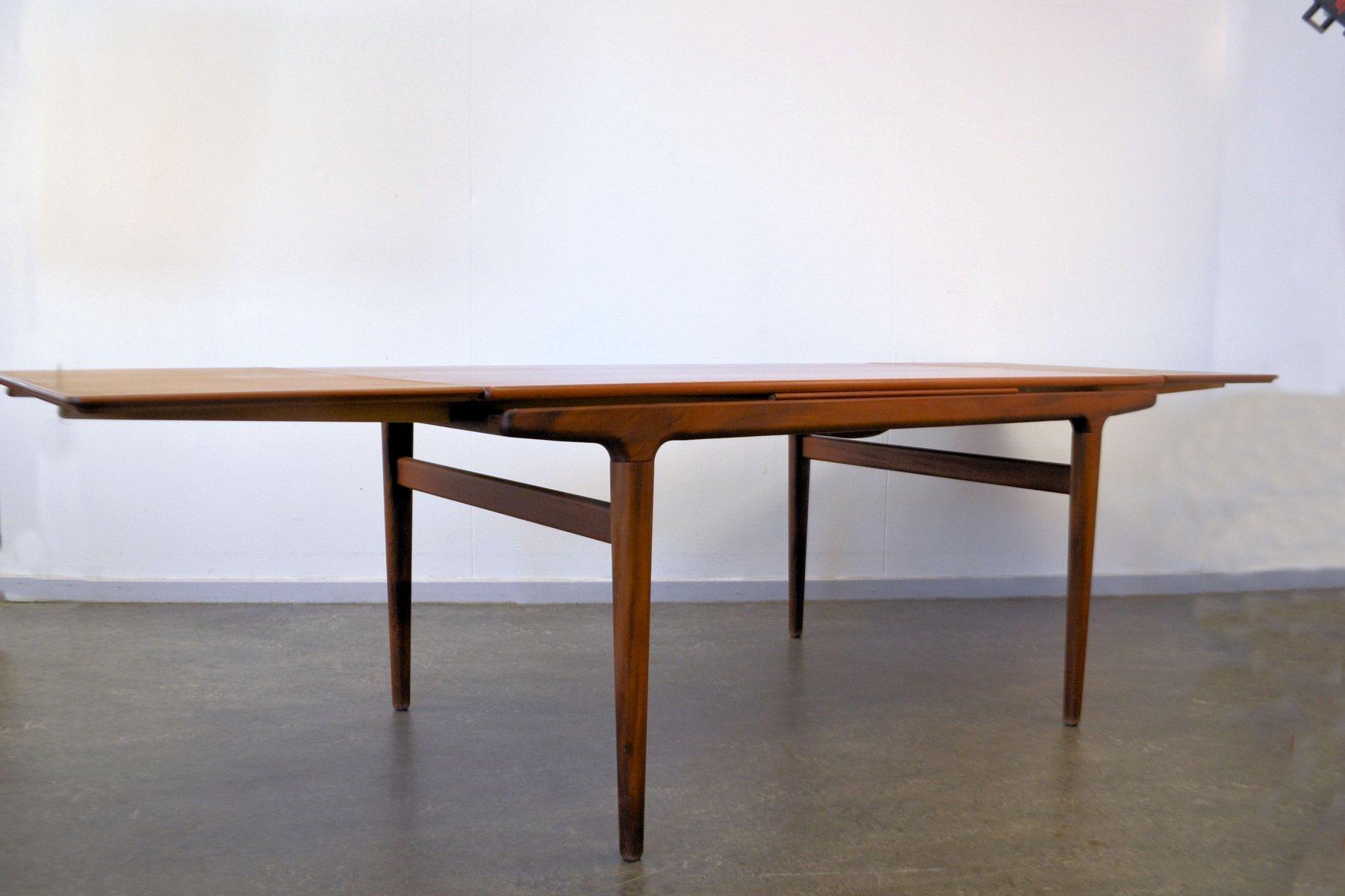 Vintage Danish Teak Dining Table by Johannes Andersen for  : vintage danish teak dining table by johannes andersen for udlum mobelfabrik 7 from www.pamono.co.uk size 1801 x 1200 jpeg 95kB