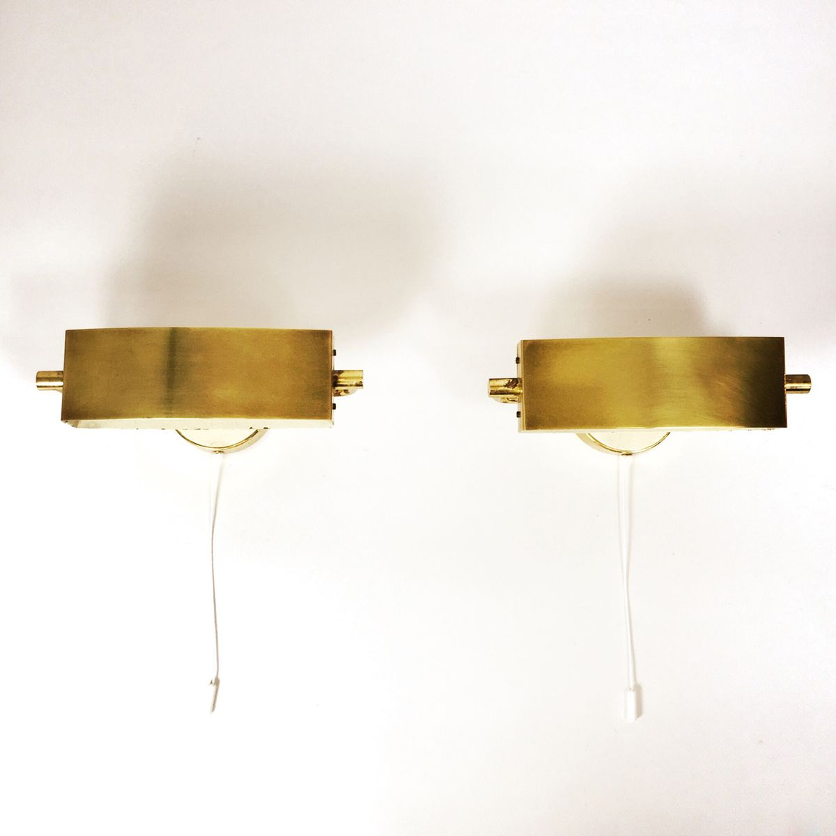 Wall Mount Lamp Set : French Wall Mounted Lamps, 1950s, Set of 2 for sale at Pamono