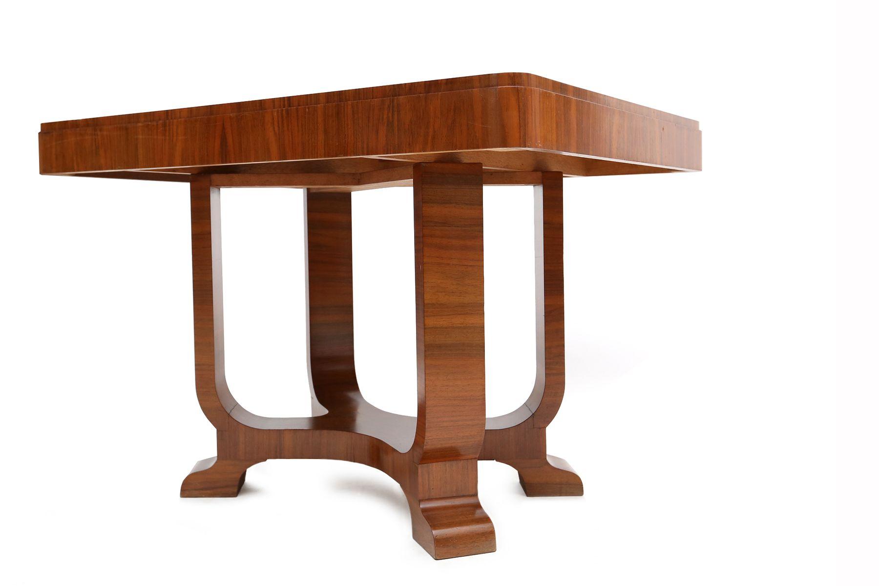 Art Deco Tisch Kaufen : Französischer Art Deco Palisander Tisch, 1950er bei Pamono kaufen