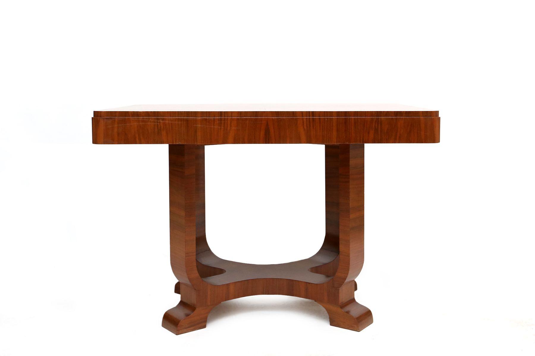 Französischer Art Deco Palisander Tisch, 1950er bei Pamono kaufen