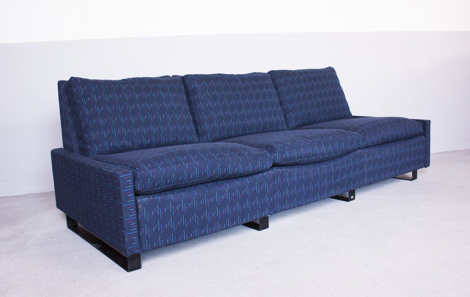 german conseta 3 seater sofa by friedrich wilhelm m ller for cor sitzm bel 1960s for sale at pamono. Black Bedroom Furniture Sets. Home Design Ideas