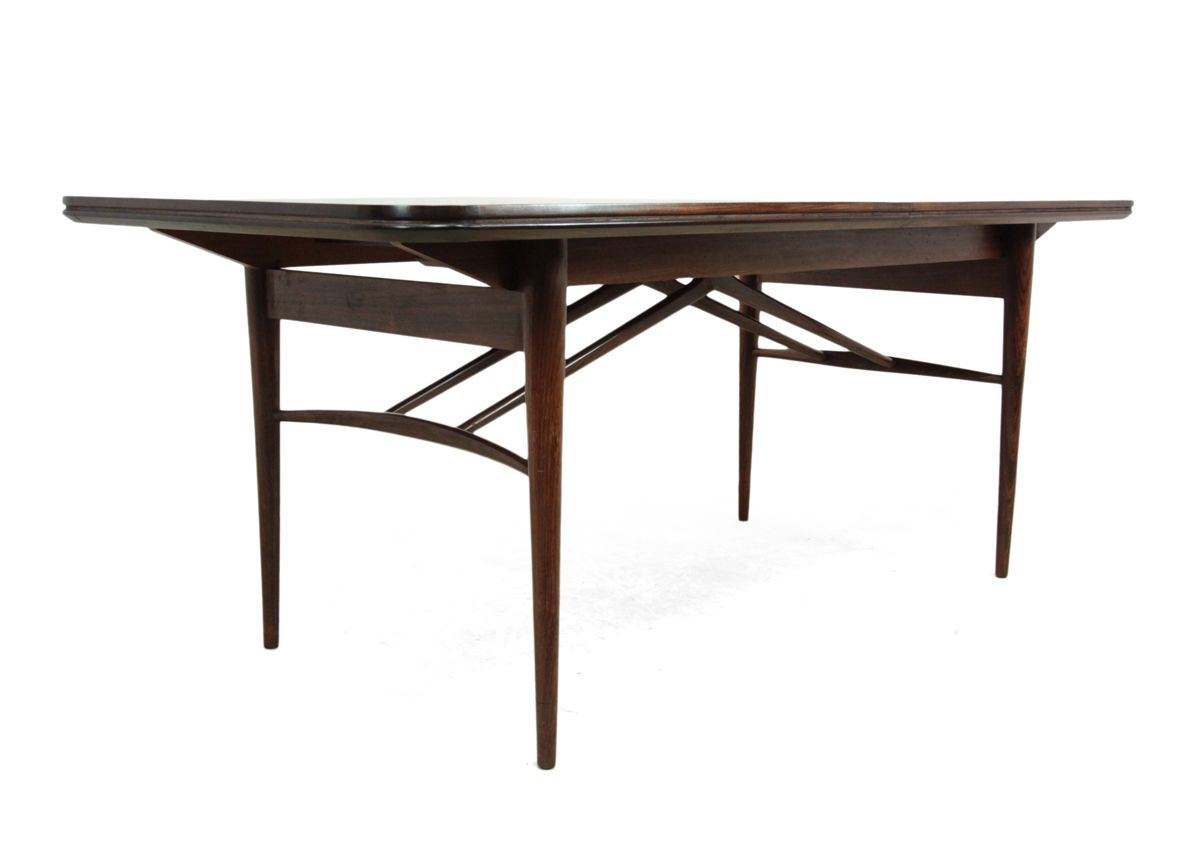 Rosewood Extending Dining Table by Robert Heritage for  : rosewood extending dining table by robert heritage for archie shine 1950s 9 from www.pamono.co.uk size 1200 x 857 jpeg 151kB