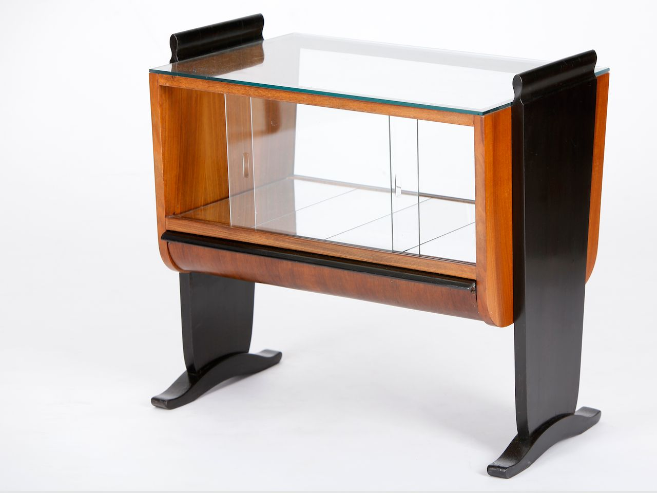 art deco bar by jindrich halabala for up zavody 1930s for sale at pamono. Black Bedroom Furniture Sets. Home Design Ideas