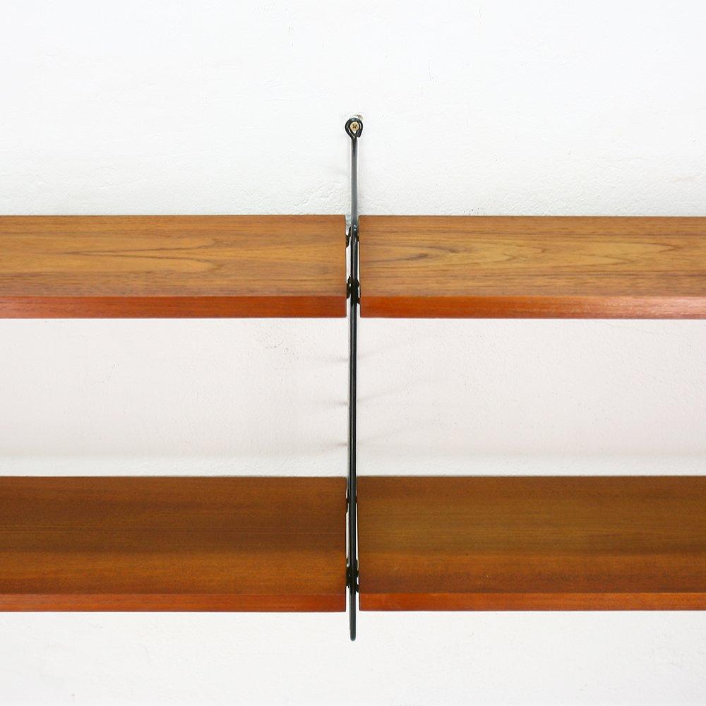 vintage wall unit by nisse katjsa strinning for string for sale at pamono. Black Bedroom Furniture Sets. Home Design Ideas