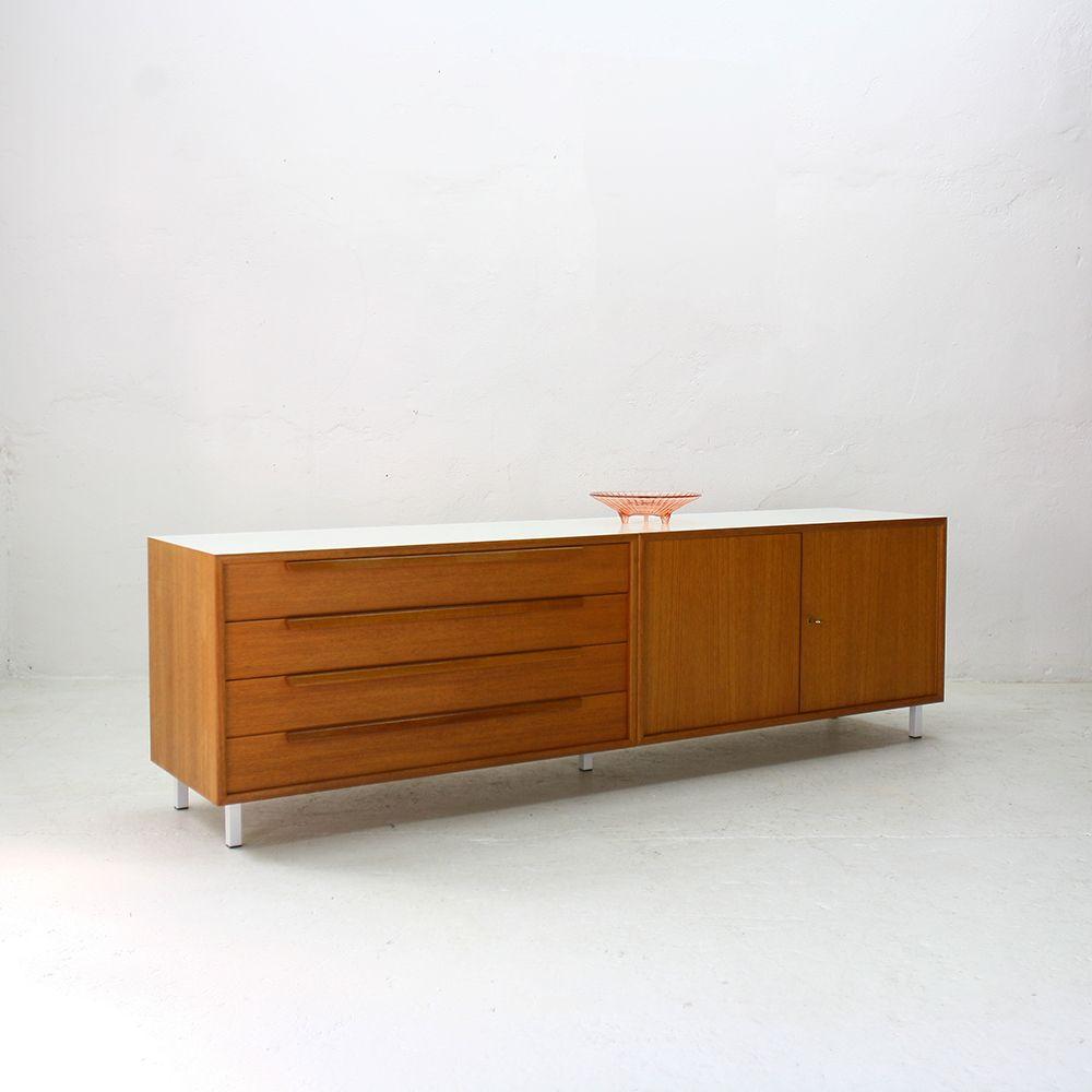 465 serie sideboard von wk m bel 1960er bei pamono kaufen. Black Bedroom Furniture Sets. Home Design Ideas