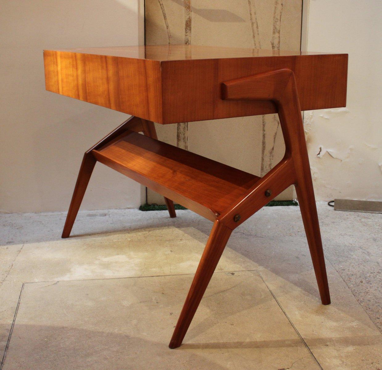 Kleiner kirschholz schreibtisch 1950er bei pamono kaufen for Schreibtisch kirschholz