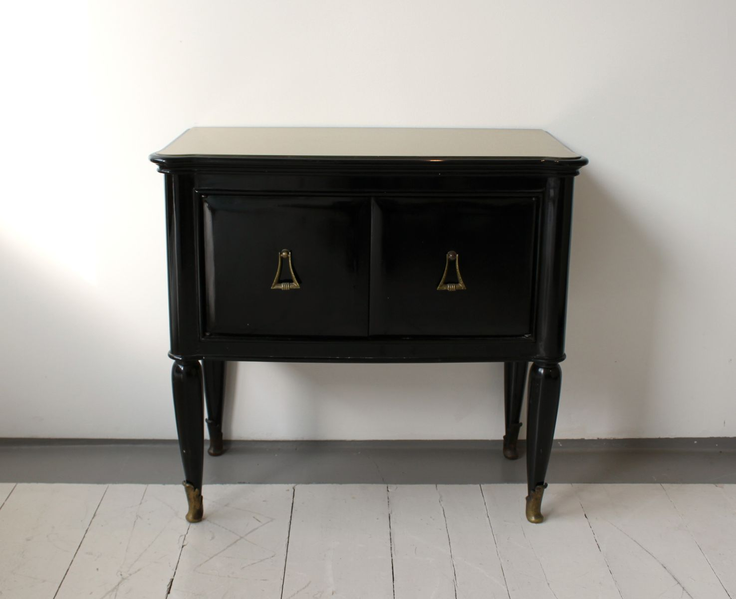 Italian console table cabinets 1950s set of 2 for sale at pamono - Sofa table with cabinets ...