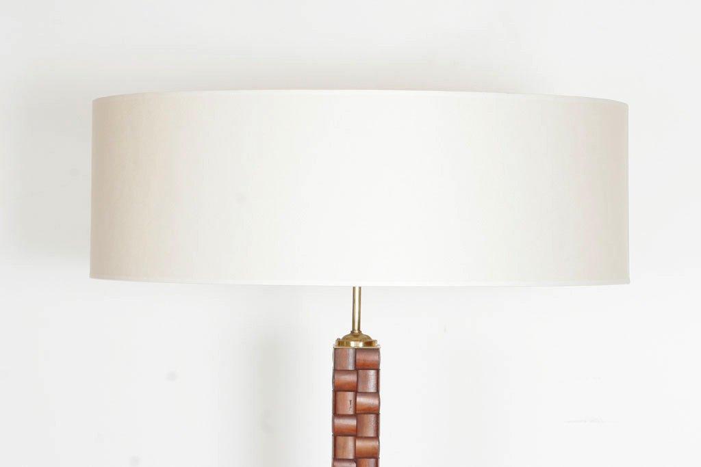 Lampada da terra in legno di Paolo Buffa in vendita su Pamono