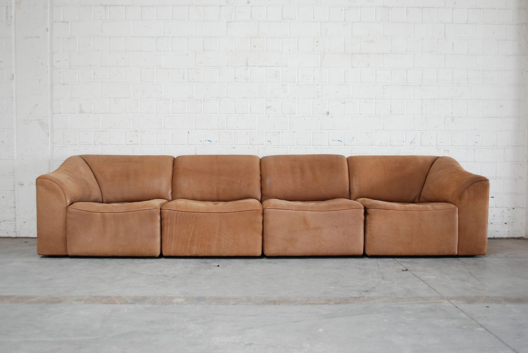 Modular Ds 10 Leather Sofa From De Sede 1985 For Sale At Pamono